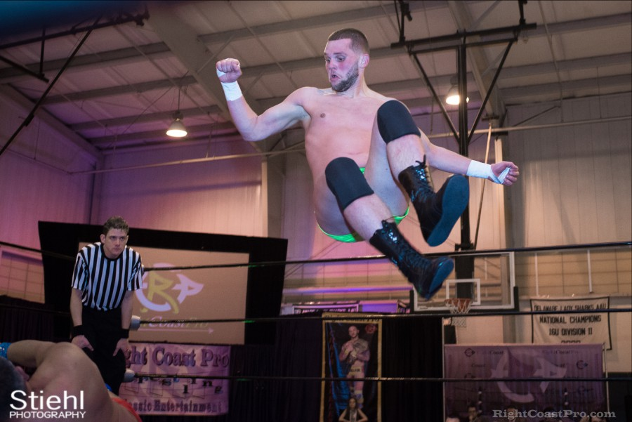 ColtonQuest KingKaluha Cadence RCP28 RightCoastPro Wrestling Delaware Event