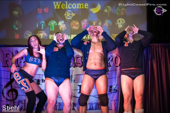 BTY 1 RightCoastPro Wrestling Delaware hungry games Event