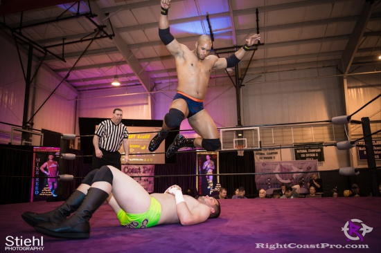 BTY 13 RightCoastPro Wrestling Delaware hungry games Event