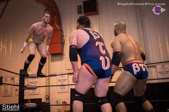 BTY 16 RightCoastPro Wrestling Delaware hungry games Event