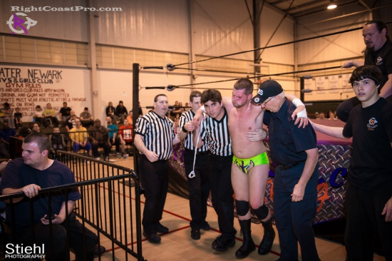 BTY 19 RightCoastPro Wrestling Delaware hungry games Event