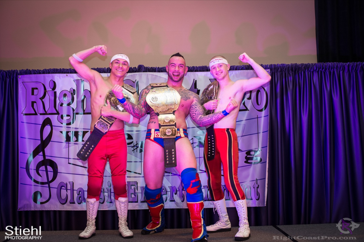Champions RightCoastPro Wrestling Delaware hungry games Event