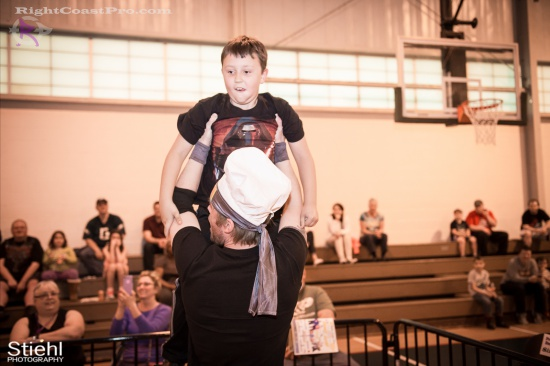 EffieTrinket 6 RightCoastPro Wrestling Delaware hungry games Event