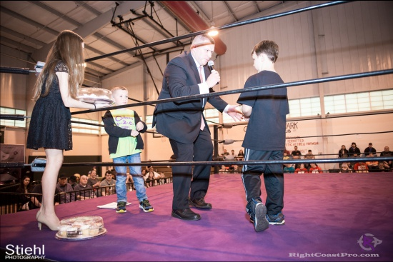 EffieTrinket 7 RightCoastPro Wrestling Delaware hungry games Event