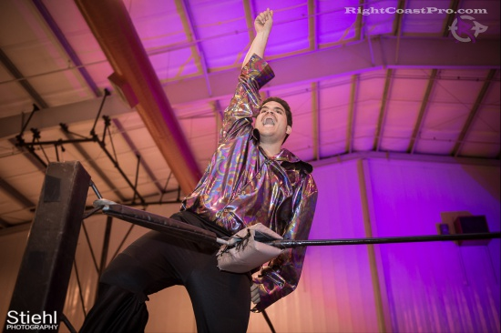 DiscoDave 2 ZPB RightCoastPro Wrestling Delaware hungry games Event