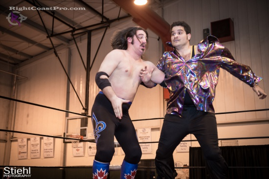 DiscoDave 6 ZPB RightCoastPro Wrestling Delaware hungry games Event