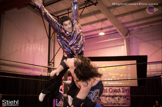 DiscoDave 7 ZPB RightCoastPro Wrestling Delaware hungry games Event