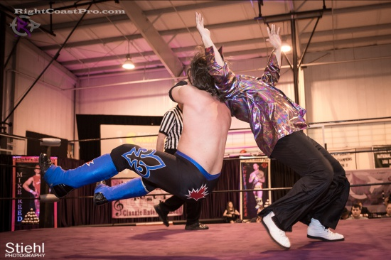 DiscoDave 8 ZPB RightCoastPro Wrestling Delaware hungry games Event