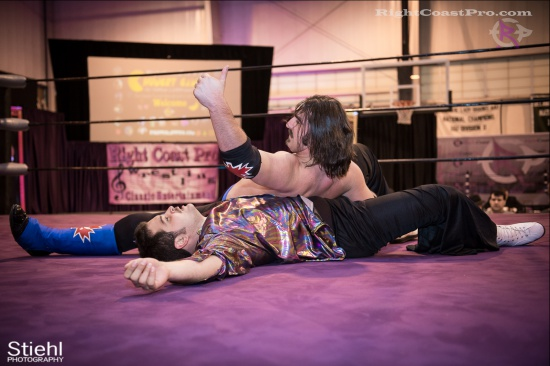 DiscoDave 9 ZPB RightCoastPro Wrestling Delaware hungry games Event