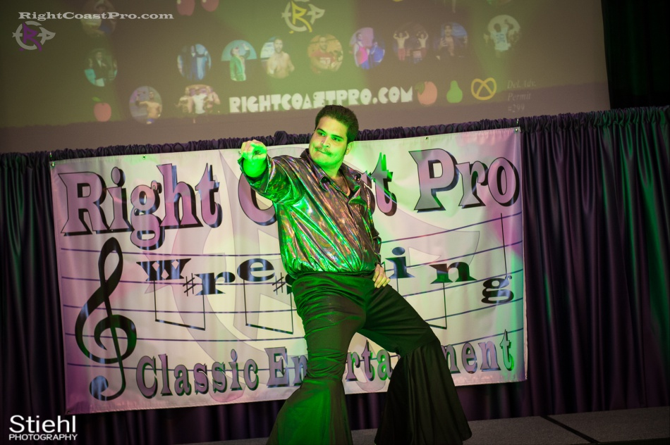 DiscoDave RightCoastPro Wrestling Delaware hungry games Event