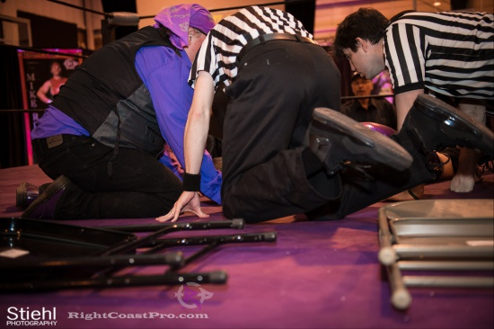 WWF 7 RightCoastPro Wrestling Delaware hungry games Event
