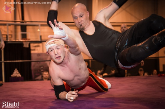 Heavyweights 11 BaldwinBrothers RightCoastPro Wrestling Delaware hungry games Event