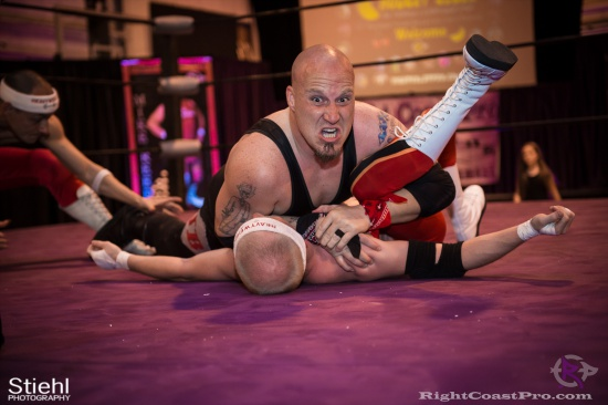 Heavyweights 14 BaldwinBrothers RightCoastPro Wrestling Delaware hungry games Event