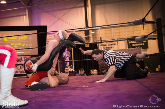 Heavyweights 18 BaldwinBrothers RightCoastPro Wrestling Delaware hungry games Event