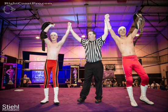 Heavyweights 21 BaldwinBrothers RightCoastPro Wrestling Delaware hungry games Event