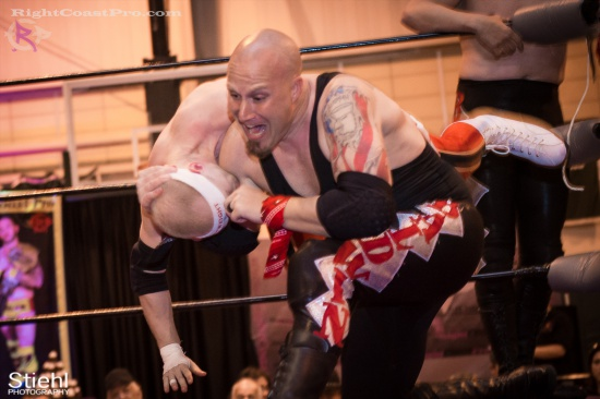 Heavyweights 9 BaldwinBrothers RightCoastPro Wrestling Delaware hungry games Event