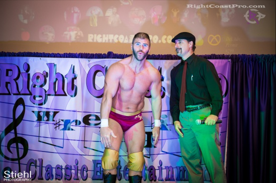 Steeler Reed 1 RightCoastPro Wrestling Delaware hungry games Event