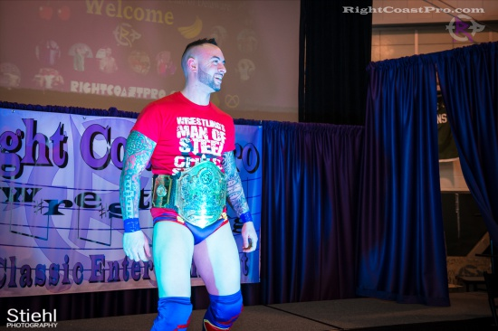 Steeler Reed 2 RightCoastPro Wrestling Delaware hungry games Event