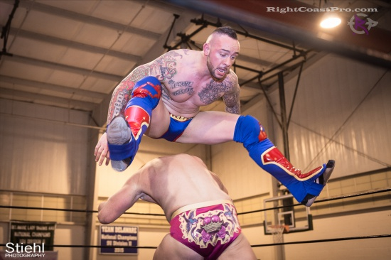 Steeler Reed 5 RightCoastPro Wrestling Delaware hungry games Event