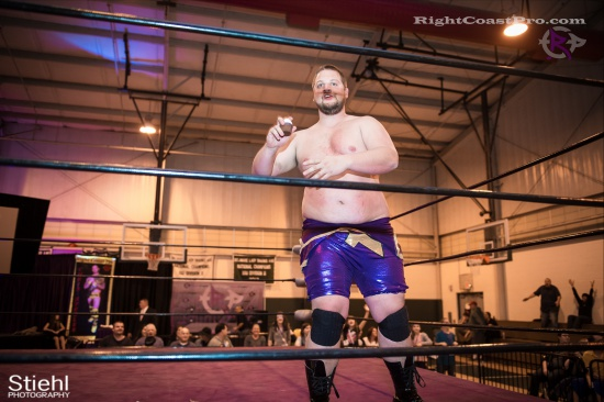 Stride Ruby 10 RightCoastPro Wrestling Delaware hungry games Event