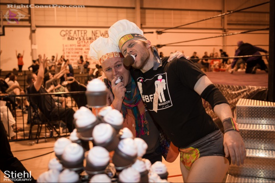 Stride Ruby 12 RightCoastPro Wrestling Delaware hungry games Event