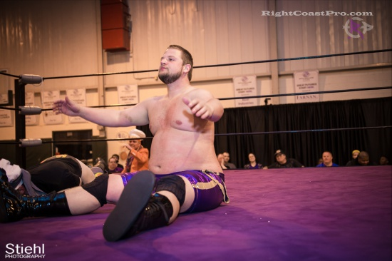 Stride Ruby 9 RightCoastPro Wrestling Delaware hungry games Event