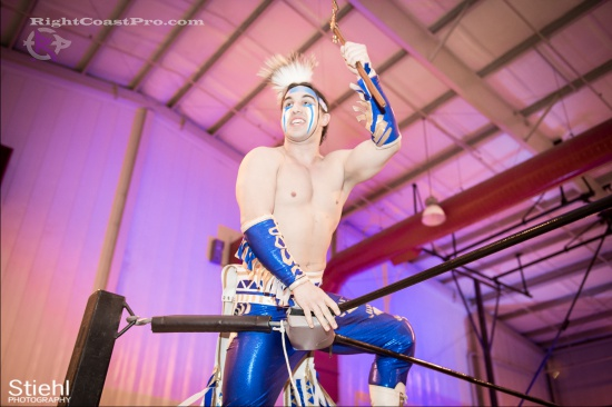 Chachi Tomahawk 1 RightCoastPro Wrestling Delaware hungry games Event