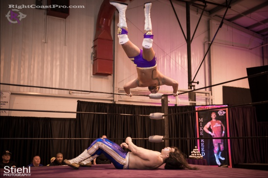 Chachi Tomahawk 11 RightCoastPro Wrestling Delaware hungry games Event
