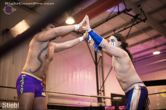Chachi Tomahawk 3 RightCoastPro Wrestling Delaware hungry games Event