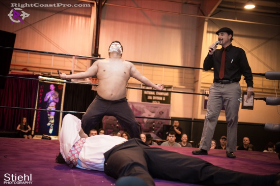 Setsu Ginsu 14 JJcrewguy RightCoastPro Wrestling Delaware hungry games Event