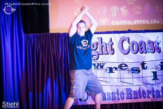 Setsu Ginsu 4 JJcrewguy RightCoastPro Wrestling Delaware hungry games Event