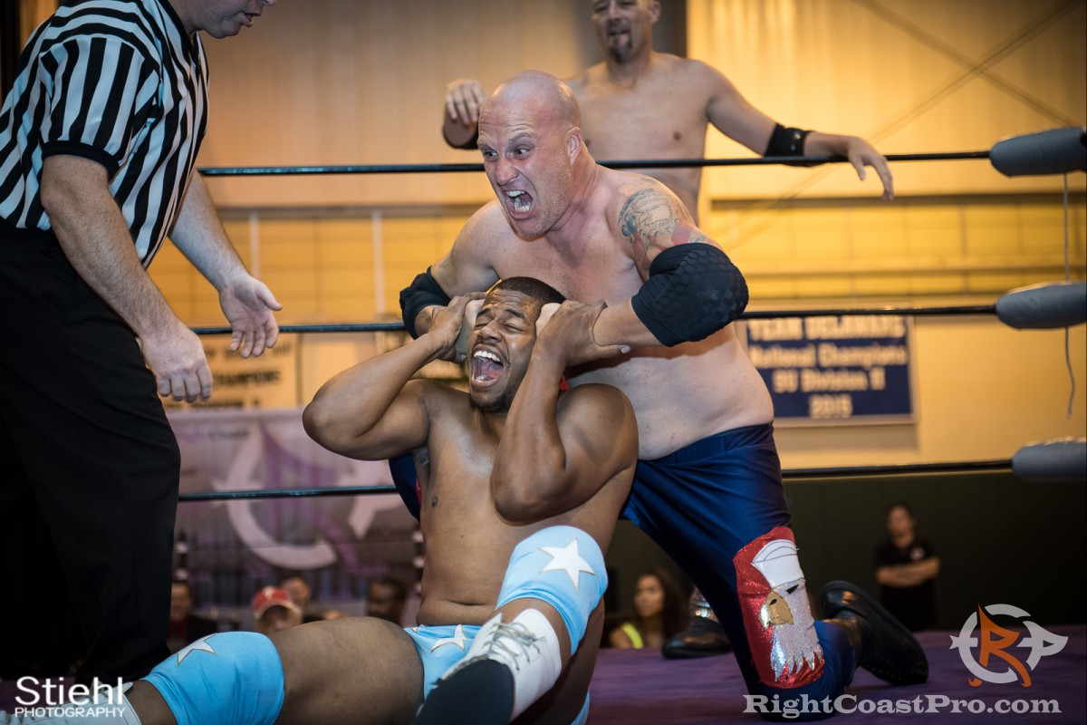 Jerry Baldwin RCP31 RightCoast Pro Wrestling Delaware Event