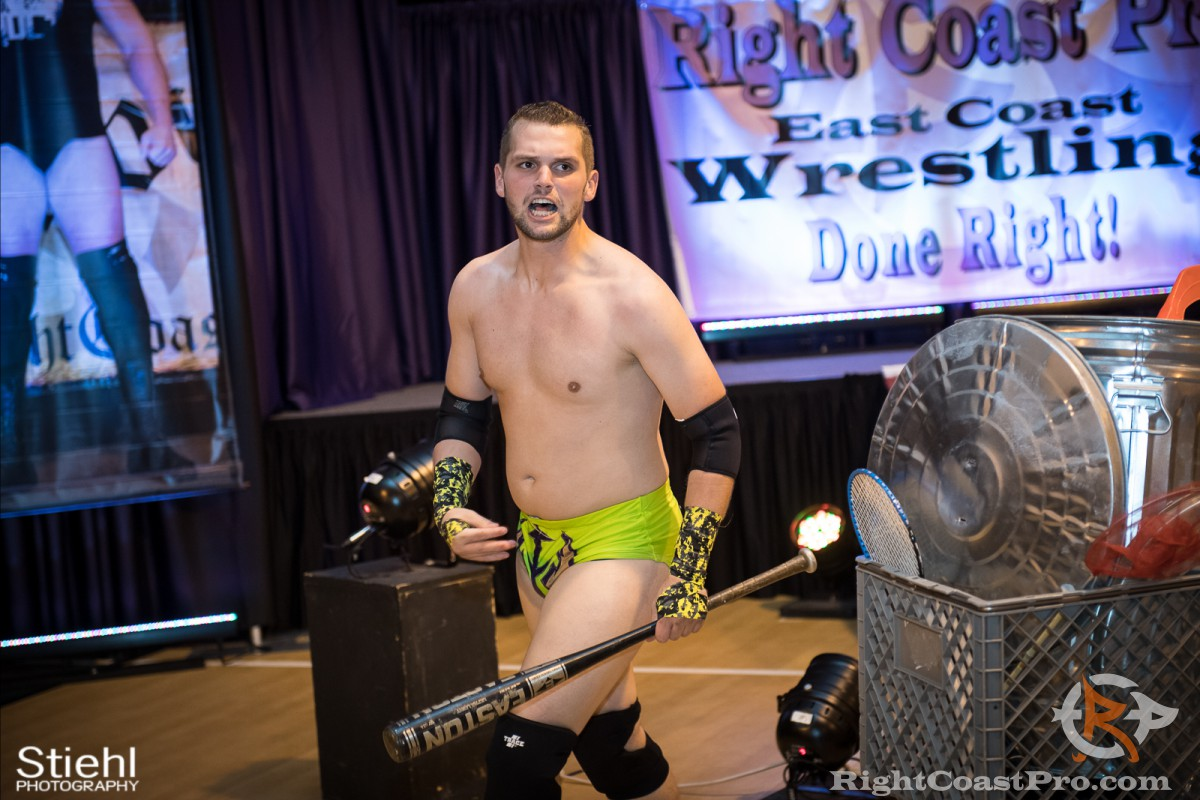 ColtonQuest streetfight RCP31 RightCoast Pro Wrestling Delaware Event