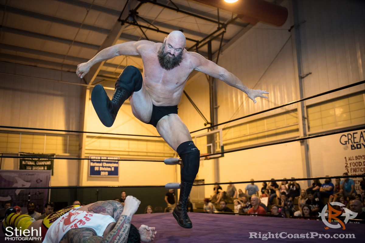 Snitsky Finisher RCP31 RightCoast Pro Wrestling Delaware Event