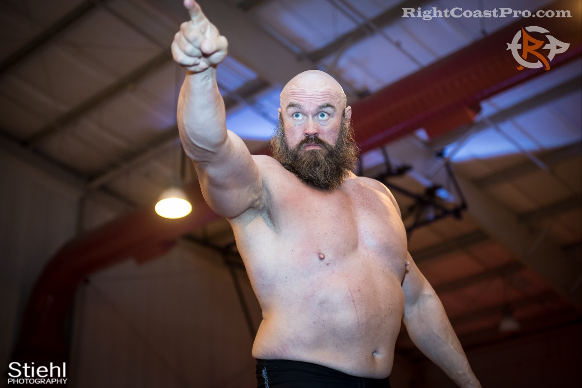 Snitsky intensity RCP31 RightCoast Pro Wrestling Delaware Event