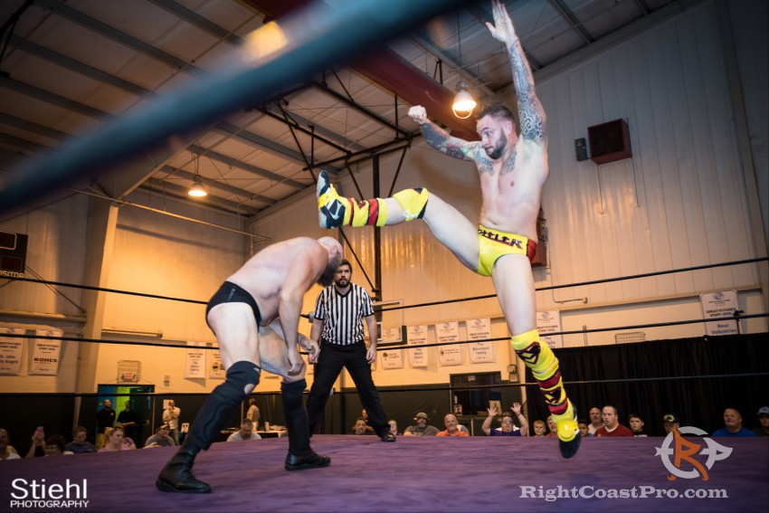 Steeler 3 RCP31 RightCoast Pro Wrestling Delaware Event