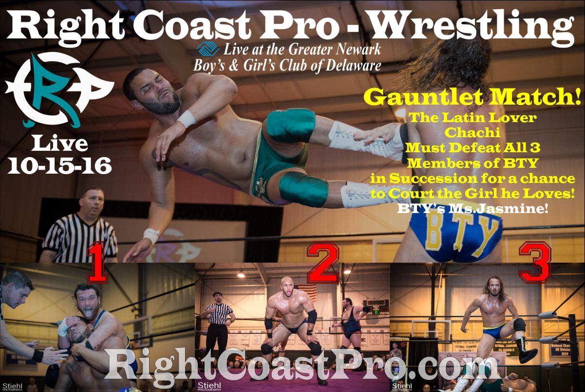 Chachi 1200 RCP32 RightCoast ProWrestling Delaware