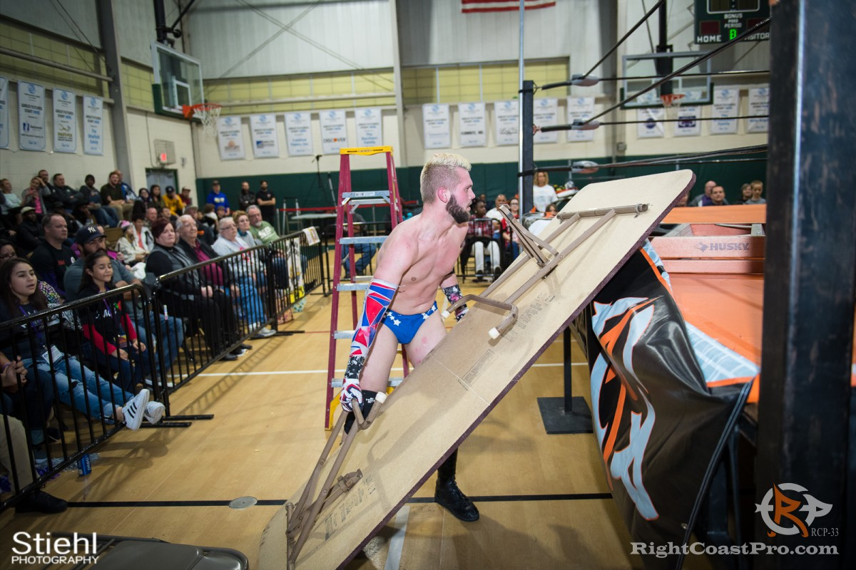 ColtonQuest 3 RCP33 RightCoast Pro Wrestling Delaware Event