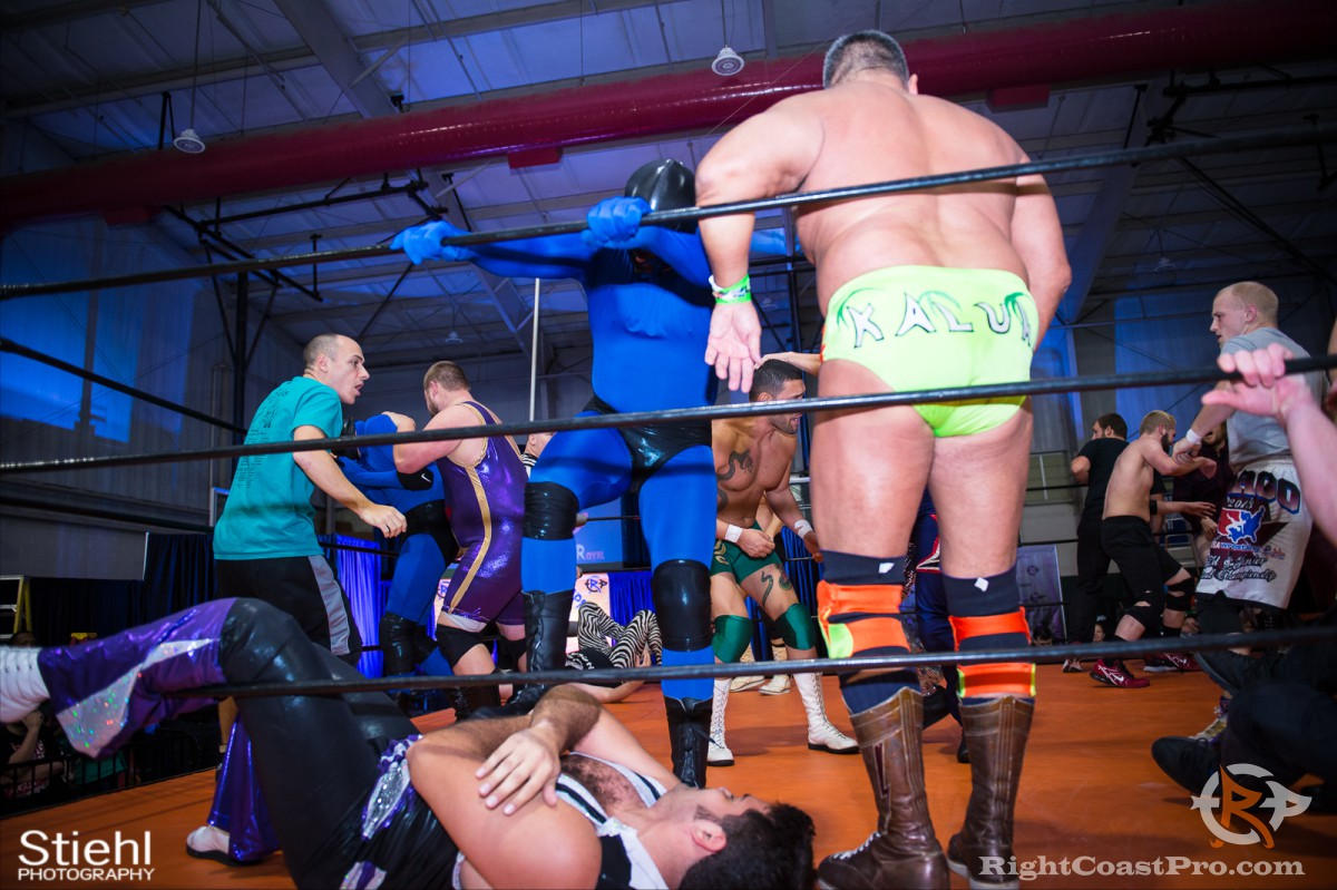 BattleRoyal 2 RCP33 RightCoast Pro Wrestling Delaware Event