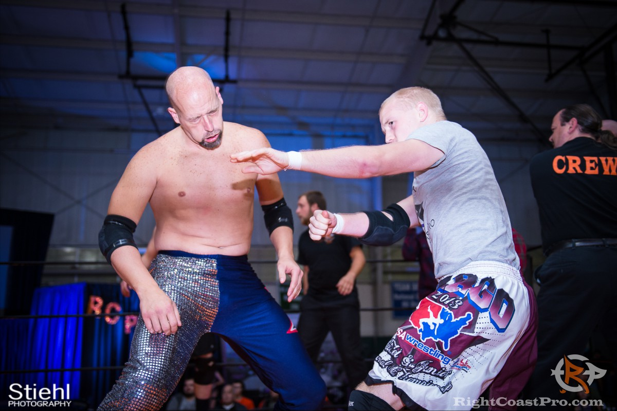 BattleRoyal 4 RCP33 RightCoast Pro Wrestling Delaware Event