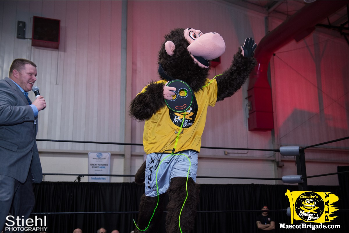 Mascot Coastee 6 RCP34 RightCoast Pro Wrestling Delaware Event