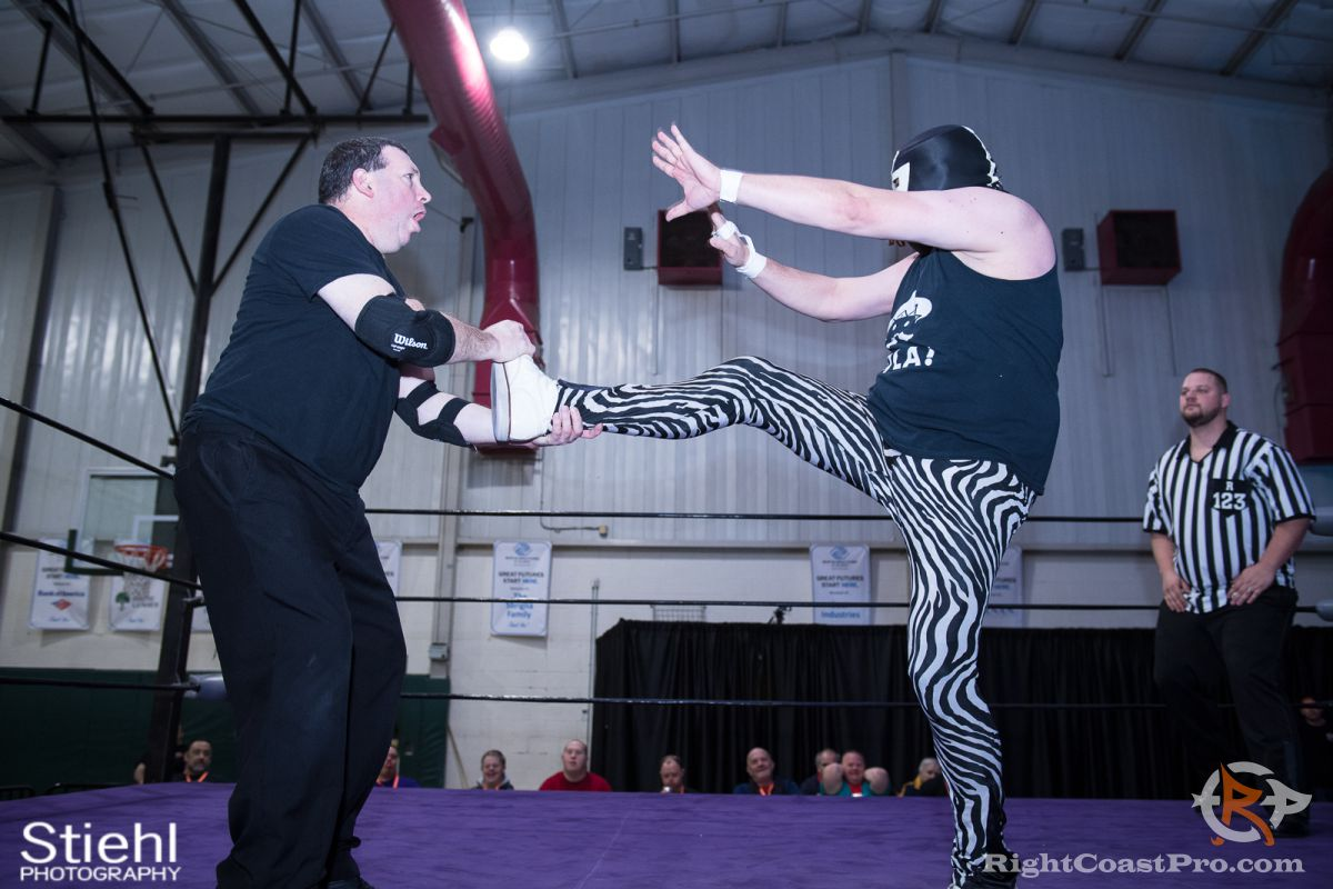 JimDixon D RCP34 RightCoast Pro Wrestling Delaware Event