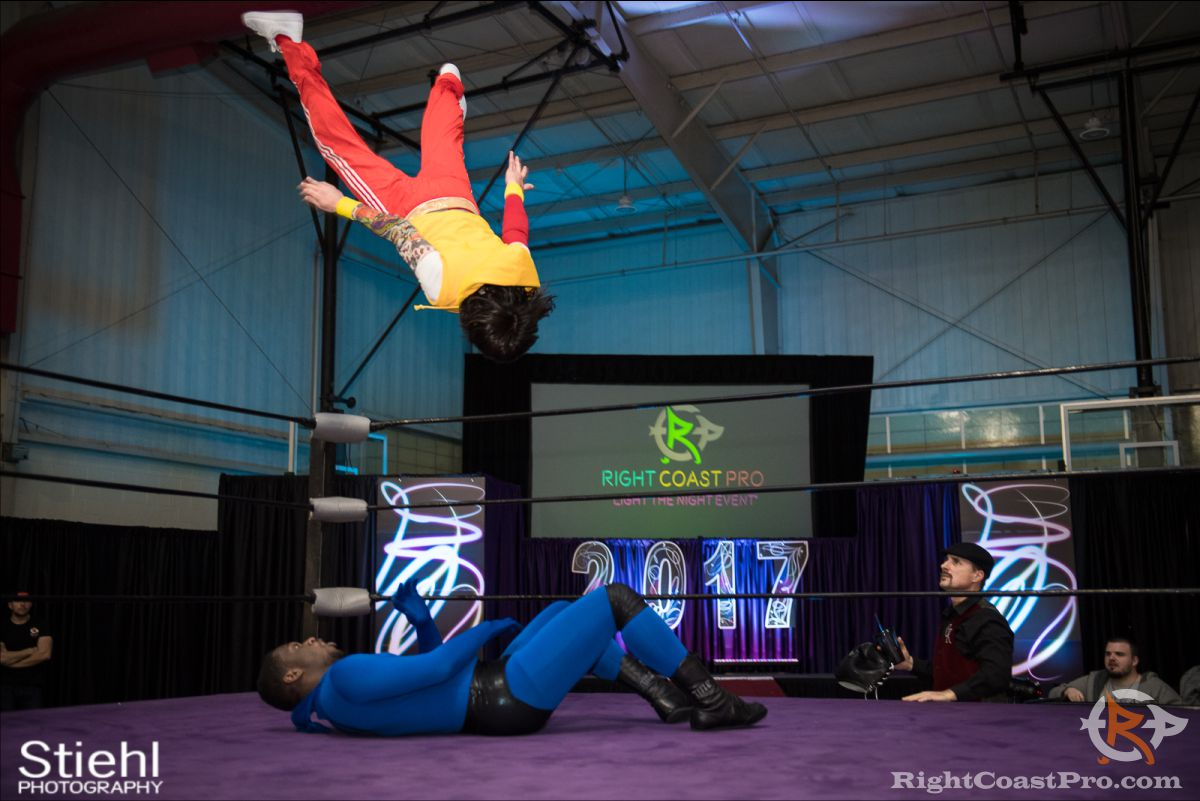 SlimJim A RCP34 RightCoast Pro Wrestling Delaware Event