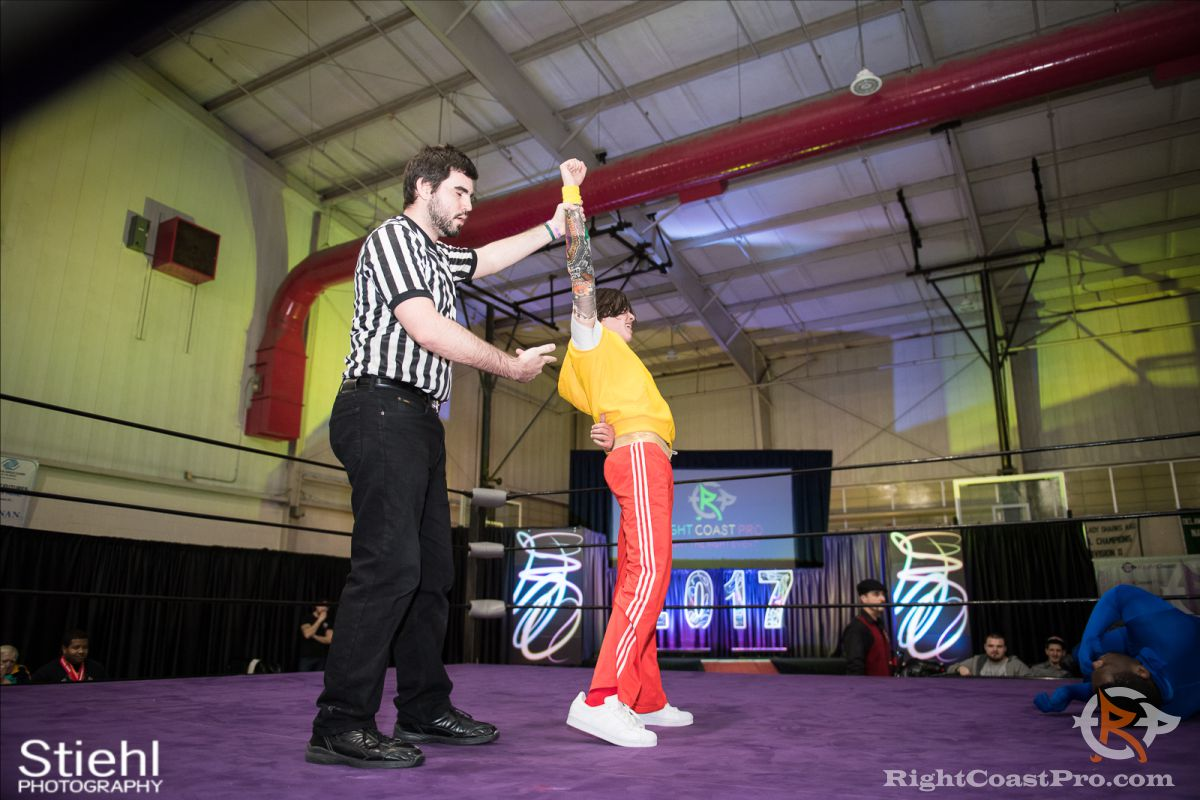SlimJim C RCP34 RightCoast Pro Wrestling Delaware Event
