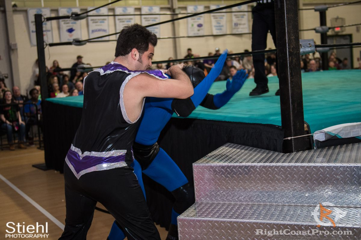 DiscoDave 2 RCP35 RightCoast Pro Wrestling Delaware Entertainment Sports Event