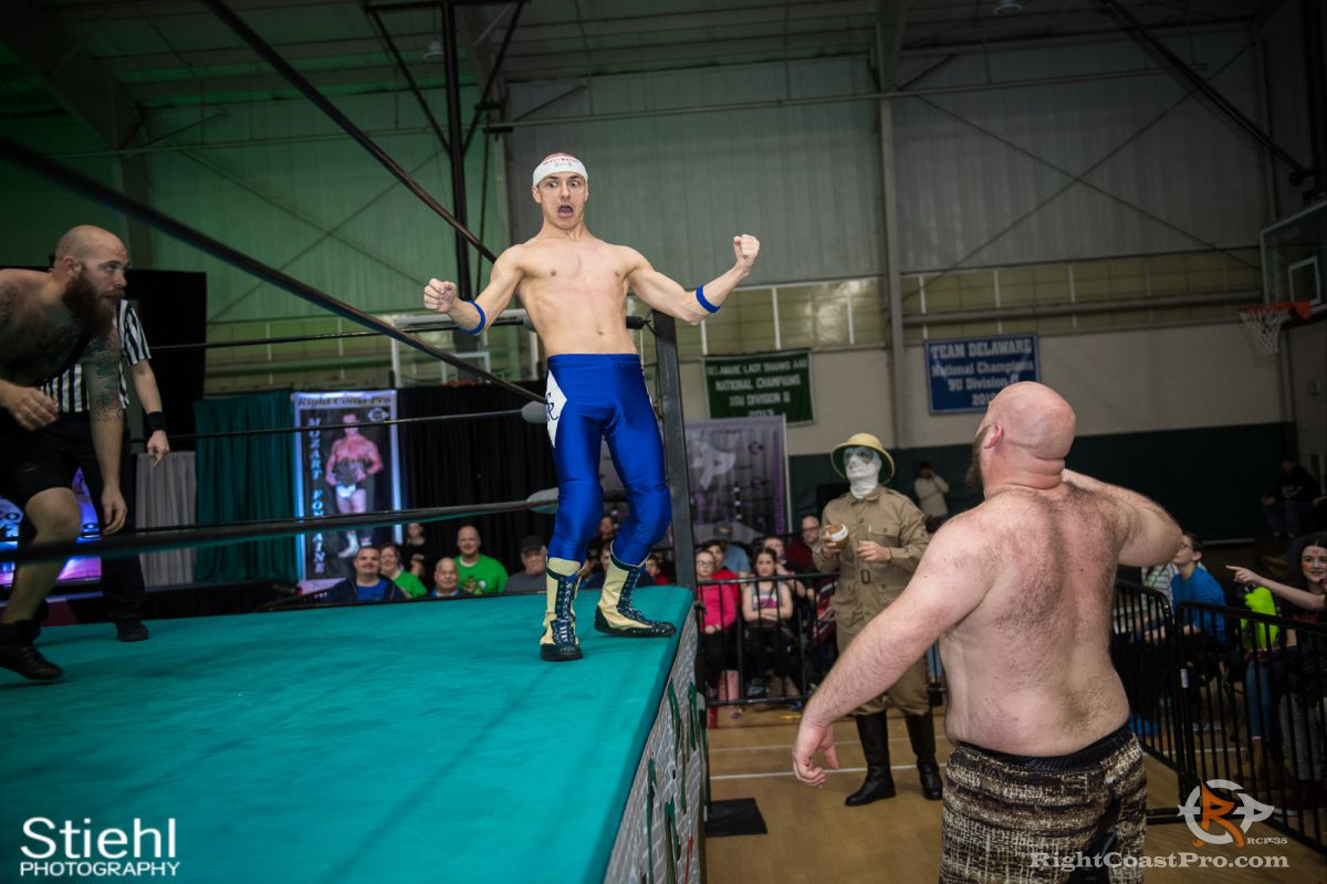 SeanRoyal 5 RCP35 RightCoast Pro Wrestling Delaware Entertainment Sports Event