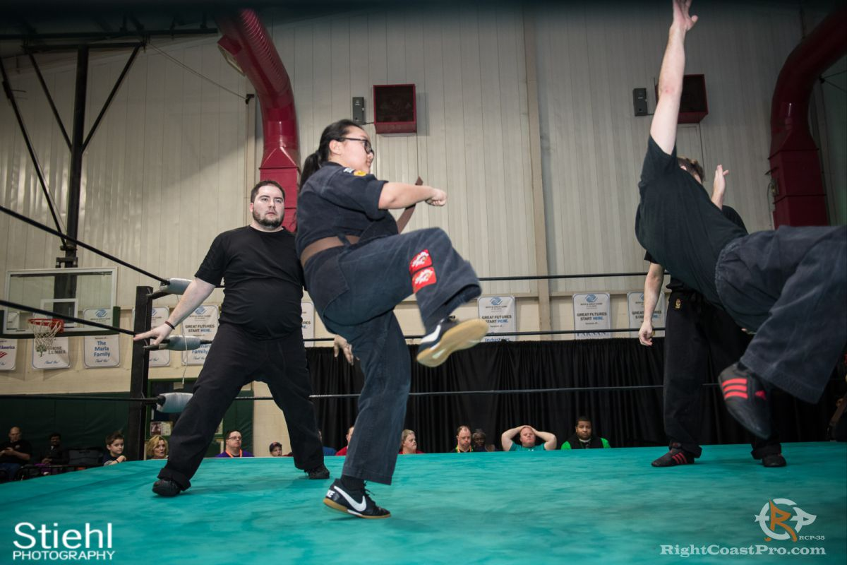 Newark Kenpo Karate rcp35 RightCoast Pro Wrestling Delaware Entertainment Sports Event
