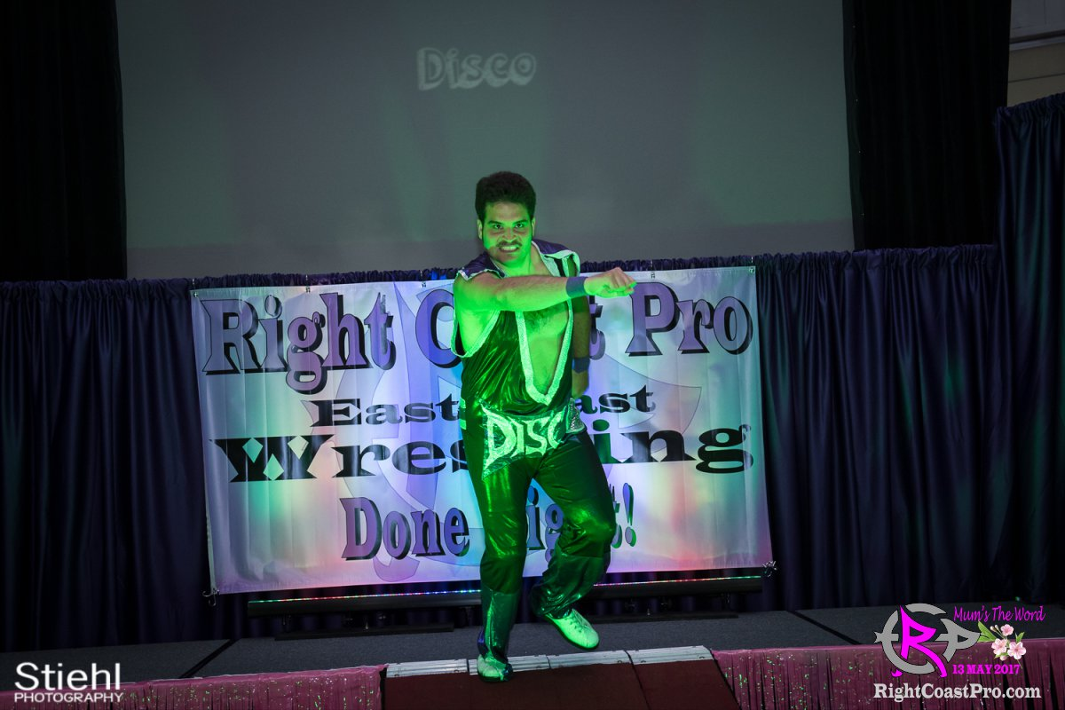 DiscoDave A RCP36 RightCoast ProWrestling Delaware Entertainment Event