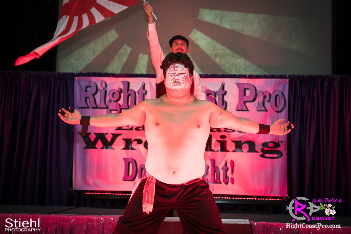 SetsuGinsu A RCP36 RightCoast ProWrestling Delaware Entertainment Event