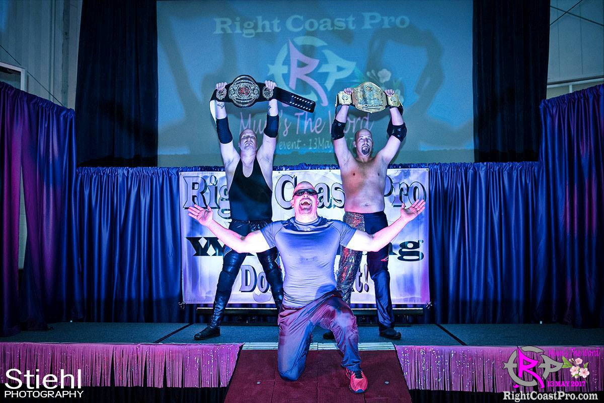 BaldwinBrothers Champs RCP36 RightCoast ProWrestling Delaware Entertainment Event